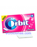 ORBIT TABS WHITE sabor BUBBLEGUM 12uds.