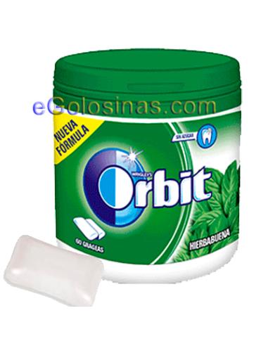 ORBIT GRAGEA BOX HIERBABUENA 6uds. Sin Azucar