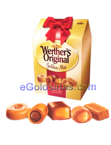 Estuche WERTHER´S ORIGINAL GOLDEN MIX 380gr