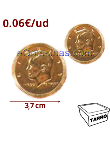 MONEDAS LARGE 37mm 190uds ALBERT