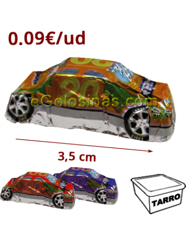 MINI COCHE MY CAR CHOCOLATE 100uds SIDRAL