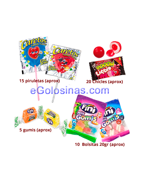 BOLSA HAPPY PARTY 500gr FINI