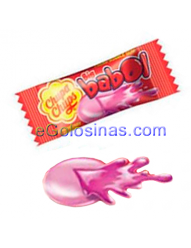 CHICLE BIG BABOL CEREZA ACIDO 100uds
