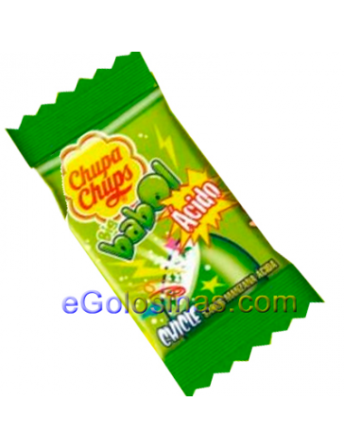 CHICLE BIG BABOL MANZANA ACIDO 100uds