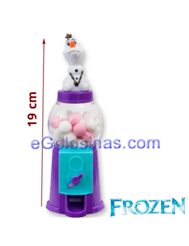 DISPENSADOR BOLAS CARAMELOS FROZEN 10uds