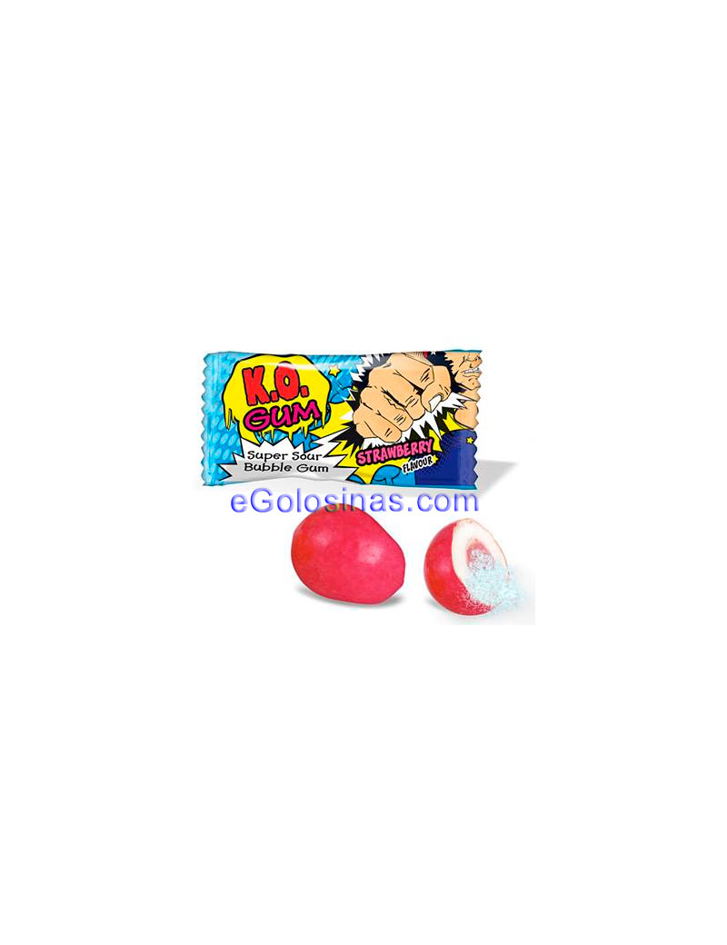 CHICLE SUPER ACIDO K.O. 200uds JAKE