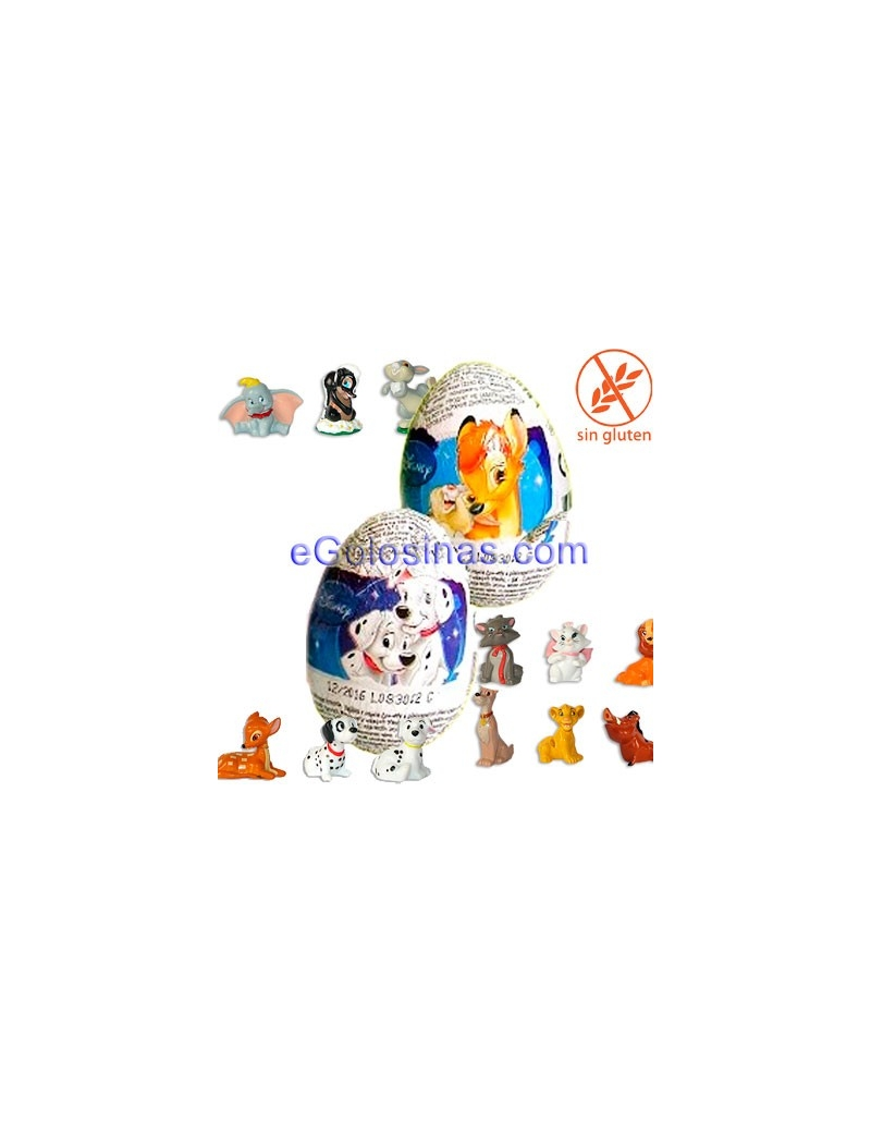 HUEVO CHOCOLATE ANIMAL DISNEY 24uds