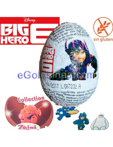 HUEVO CHOCOLATE BIG HERO 24uds