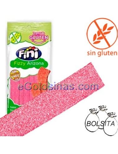 LENGUAS FRESA ARIZONA 20uds 80gr SIN GLUTEN