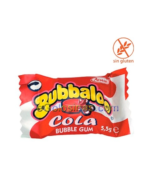 BUBBALOO sabor COLA 60uds.