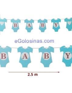 GUIRNALDA BABY BEBE AZUL 1ud 2.5m