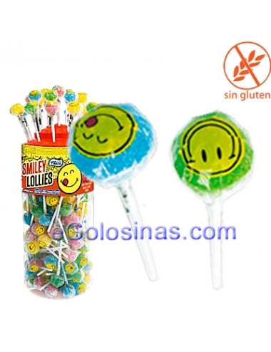 CHUPA SMILEY LOLLIES 150uds VIDAL