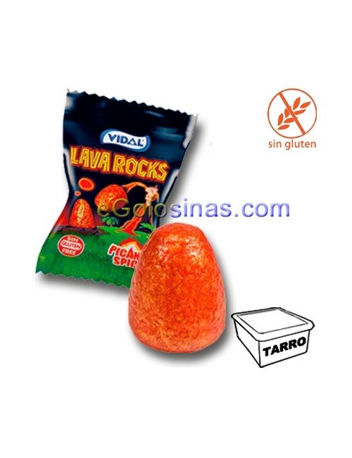 CHICLE LAVA ROCK ACIDO 200uds VIDAL