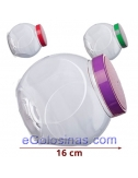 TARRO EXPOSITOR CHUCHES BOLA PET 1ud