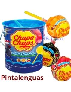 CHUPA CHUPS LATA PINTALENGUAS 150uds