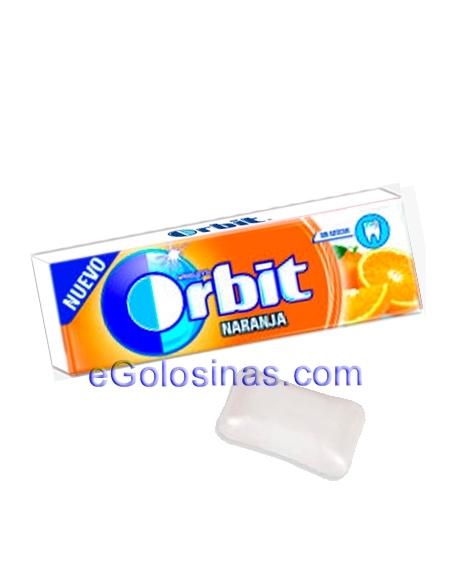 ORBIT GRAGEA sabor NARANJA 30uds. Sin Azucar