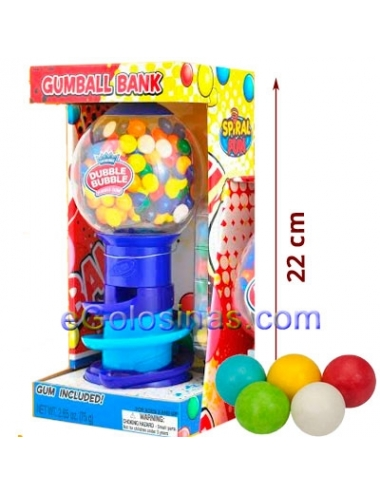 MAQUINA CHICLETERA SPIRAL FUN FLEER