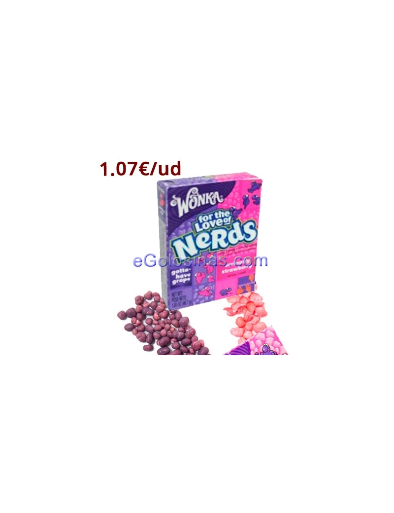 CAJETILLAS FOR THE LOVE OF NERDS 36uds WONKA