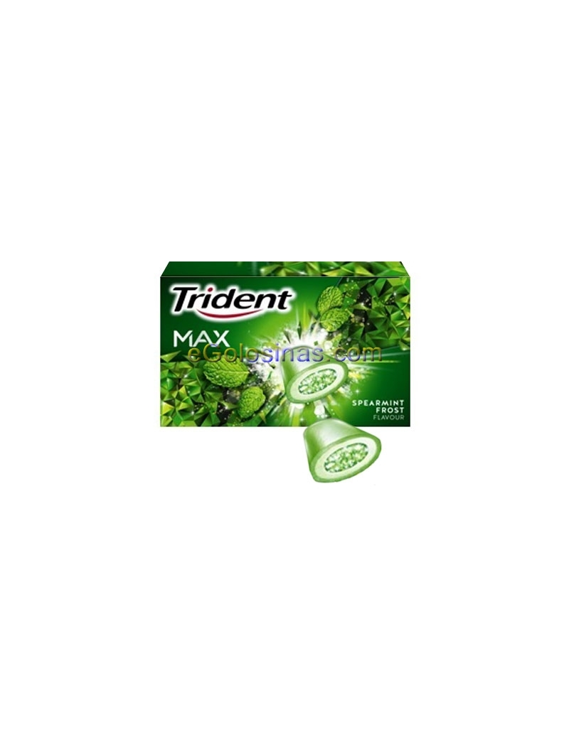 TRIDENT HIERBABUENA MAX FROST 16uds