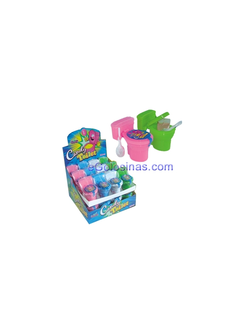 CANDY TOILET 24uds FANTASY TOYS