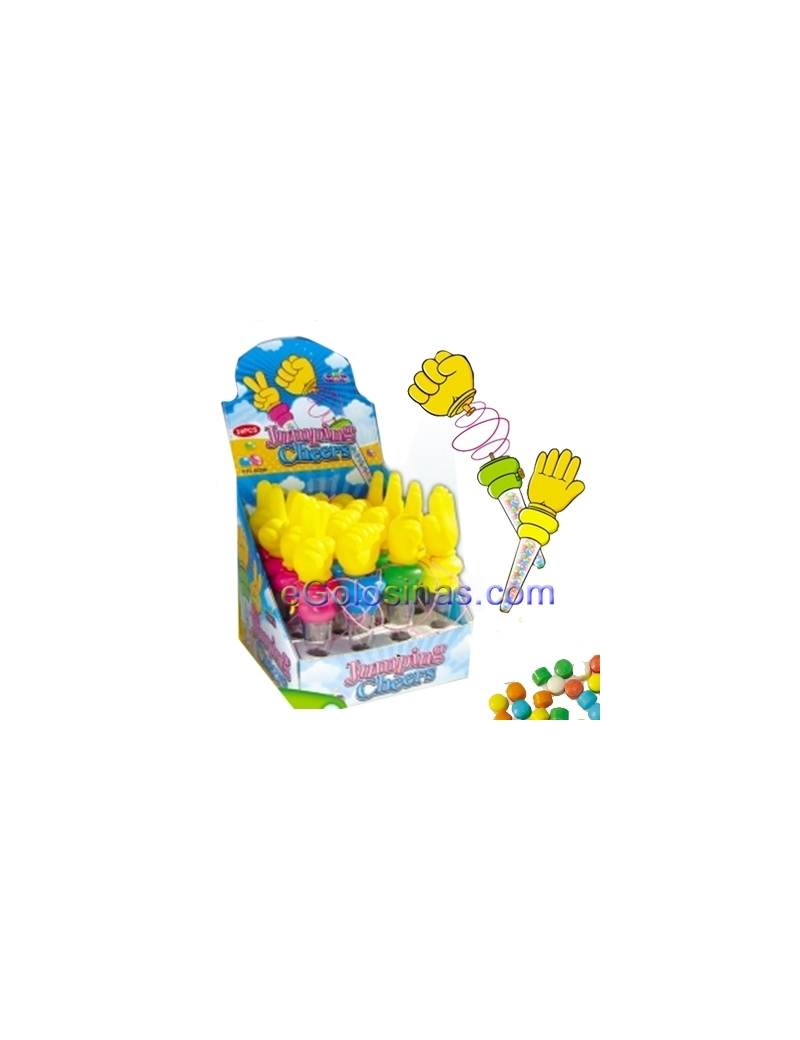 JUMPING CHEERS 16uds FANTASY TOYS
