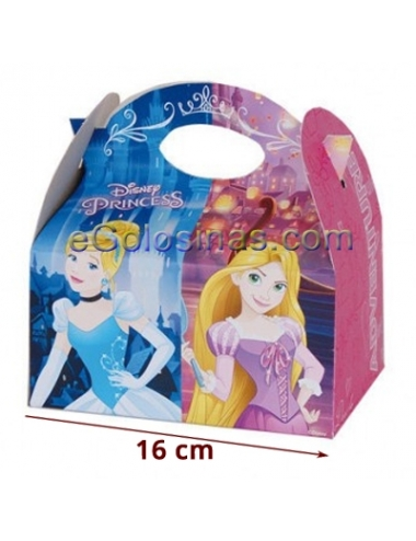 CAJITA PRINCESAS ADVENTURE 4uds