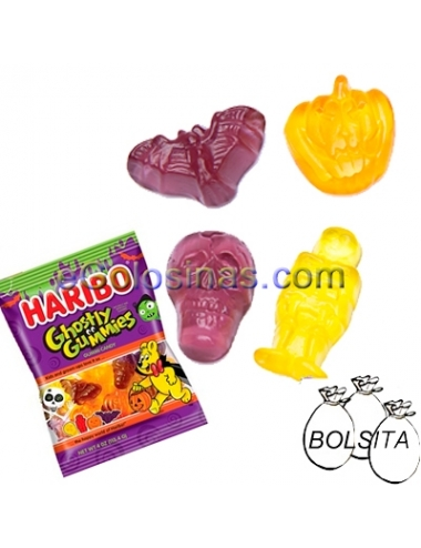 GHOSTLY GUMMIES 18 Bolsitas de 100gr HARIBO