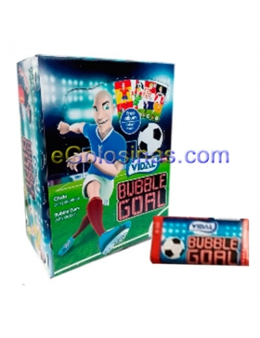 CHICLE BUBBLE GOAL 200uds VIDAL