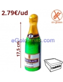 BOTELLA BENJAMIN de CHOCOLATE 10uds