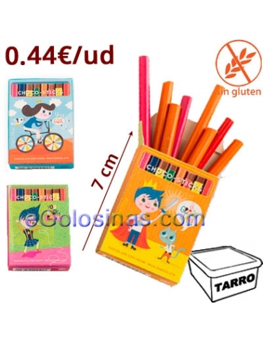 LAPICES CHOCOBARRITAS 45uds