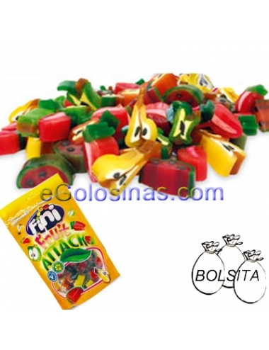 REGALIZ FRUIT ATTACK 12uds 100gr FINI