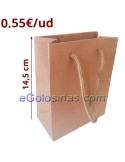 BOLSITA REGALO KRAFT 11,5x14,5cm 6uds