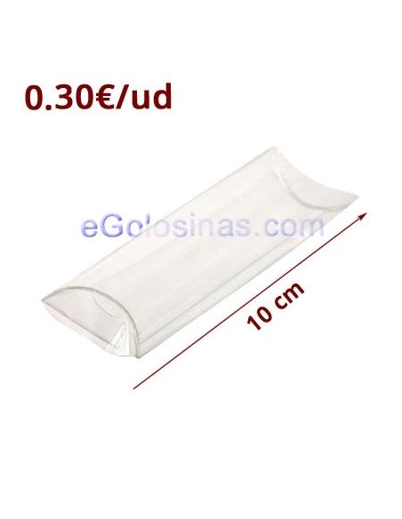 TUBO TRANSPARENTE PVC 10cm 12uds