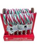 BASTONES CARAMELO GIGANTES 57gr 24uds para Navidad