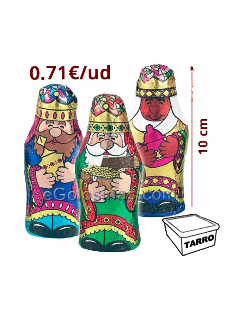 REYES MAGOS CHOCOLATE 14uds Interdulces