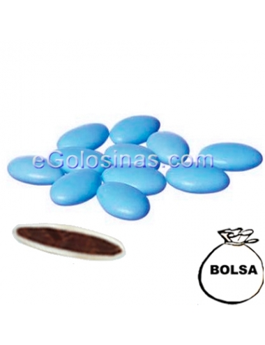 PELADILLAS CHOCOLATE color AZUL 1kg (260uds aprox)