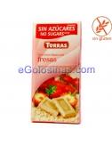 TABLETA CHOCO BLANCO con FRESA 75gr TORRAS