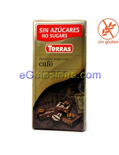 TABLETA CHOCOLATE CAFE 75gr TORRAS