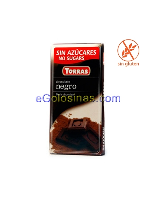 TABLETA CHOCOLATE NEGRO 50% 75gr TORRAS