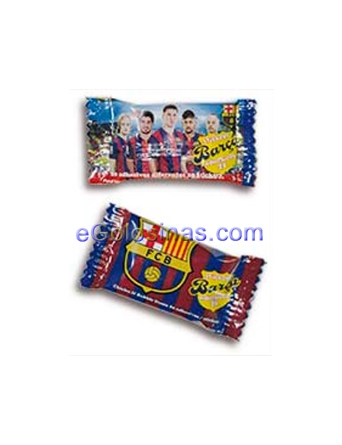 CHICLE FC BARCELONA 150uds