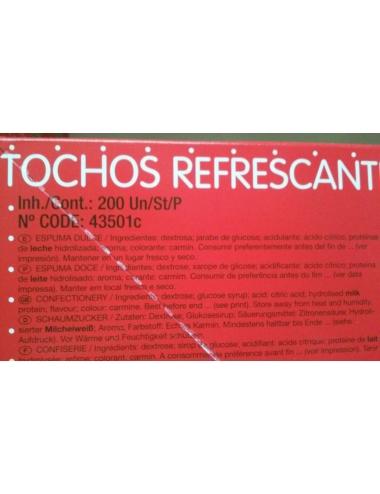 TOCHO REFRESCANTE FRESA 200uds HARIBO