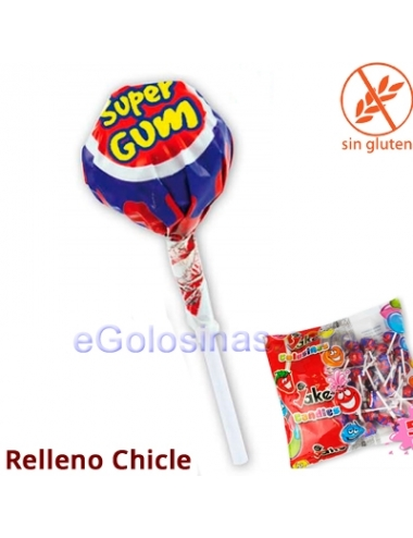 CHUPA SUPERGUM CEREZA 50uds JAKE