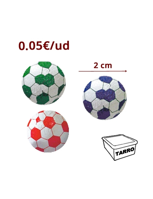MINI BALONES CHOCOLATE 200uds SIDRAL