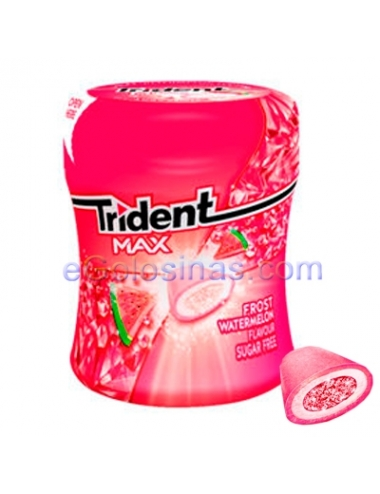 BOTE TRIDENT MAX FROST SANDIA 6uds
