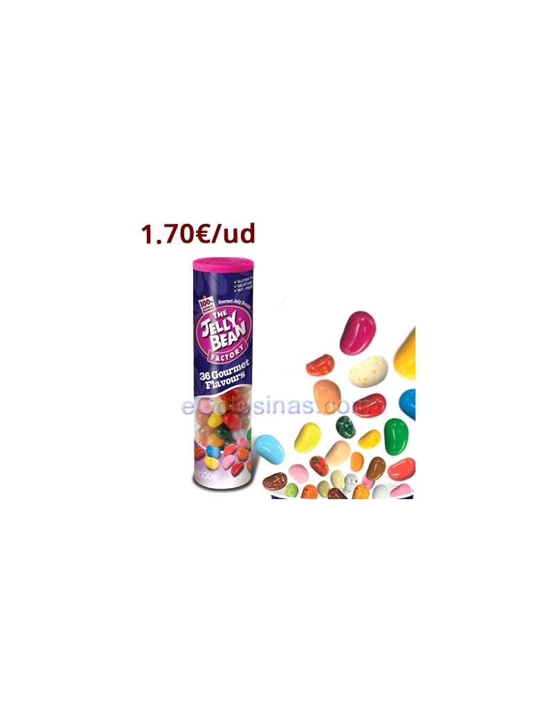 TUBO THE JELLY BEAN FACTORY 24uds 100gr