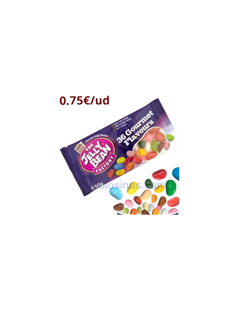 BOLSITAS THE JELLY BEAN FACTORY 24uds 50gr