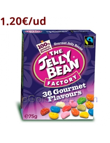 CAJITA THE JELLY BEAN FACTORY 16uds 75gr