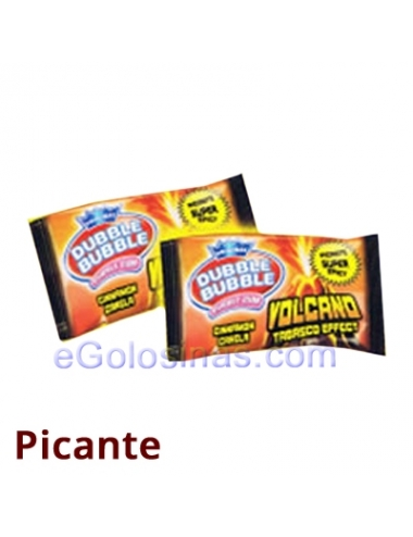 CHICLE VOLCANO EFECTO TABASCO 200uds FLEER