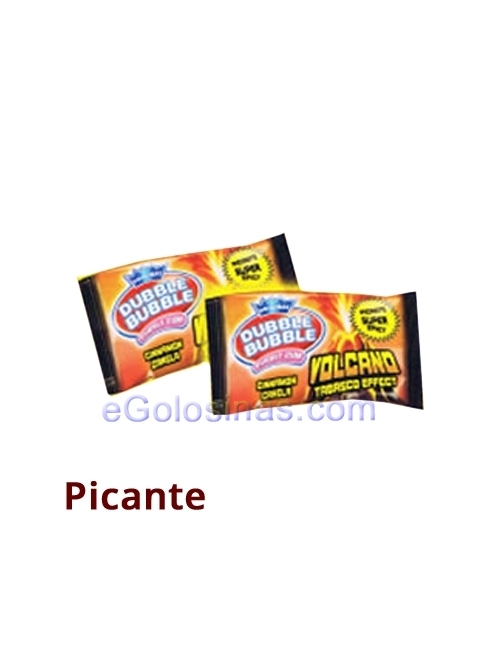 CHICLE PICANTE VOLCANO EFECTO TABASCO 200uds FLEER