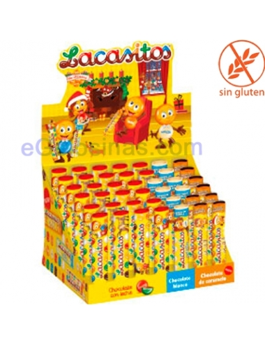 LACASITOS MIX TUBO NAVIDAD 42uds Chocolate y Chuches Online